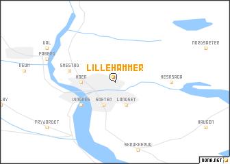 Lillehammer Norway map nonanet
