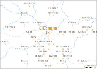 Lilongwe Malawi map nonanet