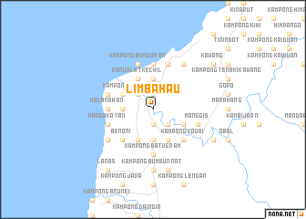 map of Limbahau