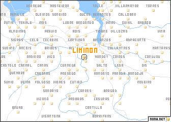 map of Limiñón