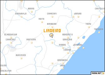 map of Limoeiro