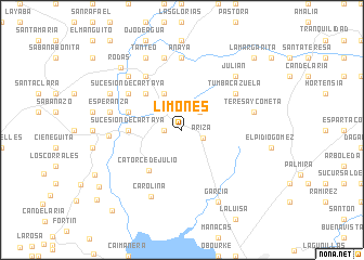 map of Limones
