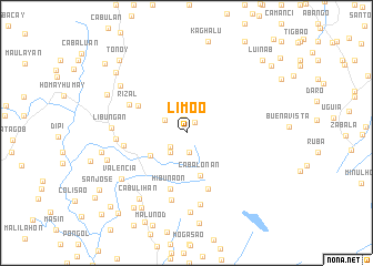 map of Lim-oo