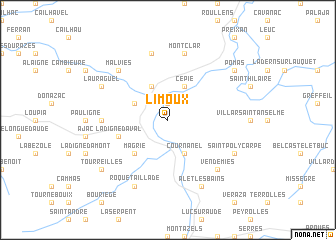 Limoux France Map.Limoux France Map Nona Net
