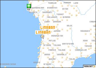 map of Linaban