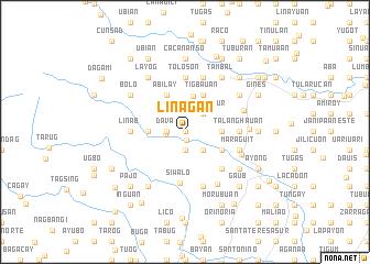 map of Liñagan