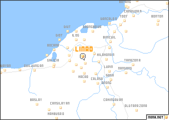map of Linao
