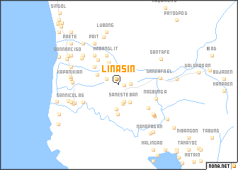 map of Linasin