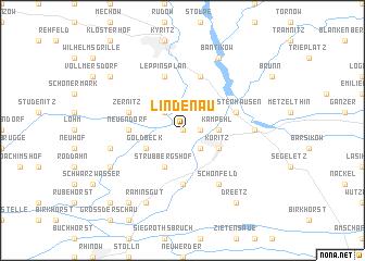 map of Lindenau