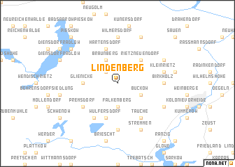 map of Lindenberg
