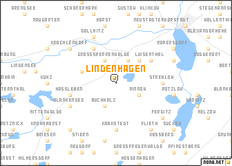 map of Lindenhagen