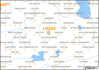 map of Linden