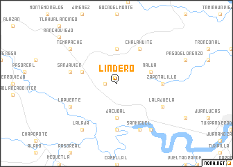 map of Lindero