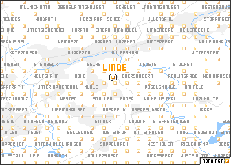 map of Linde