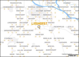 map of Lindhorst
