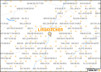 map of Lindkirchen