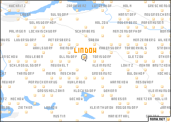 map of Lindow