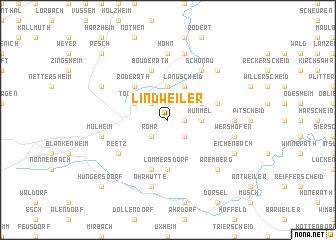 map of Lindweiler