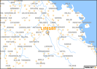 map of Linedan