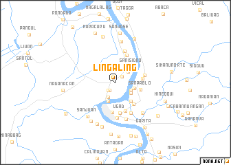 map of Lingaling