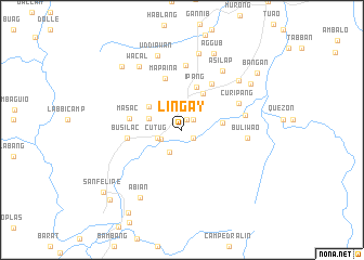 map of Lingay