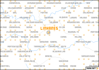map of Linhares