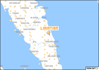 map of Linintian