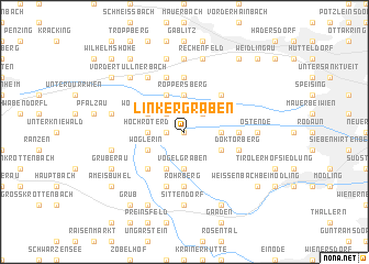map of Linker Graben