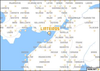 map of Linteiros