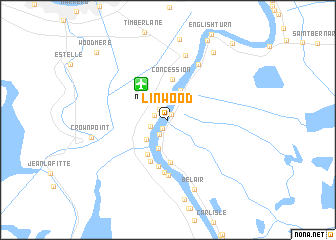 map of Linwood