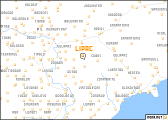 map of Lip-ac