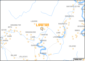 map of Lipatan