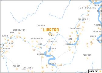 map of Lipatan