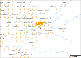 map of Lipay