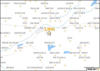 map of Lipki