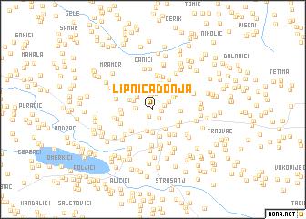 map of Lipnica Donja