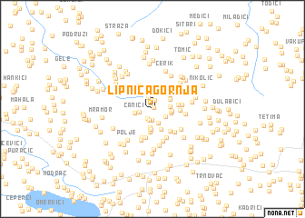 map of Lipnica Gornja