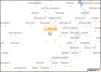 map of Lipowa