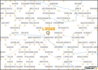 map of Lipowa
