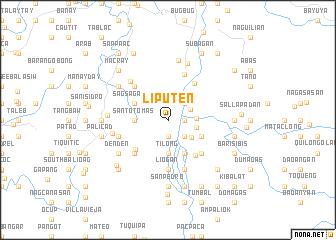 map of Liputen