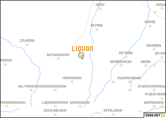 map of Līqvān