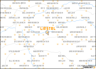map of Lirstal