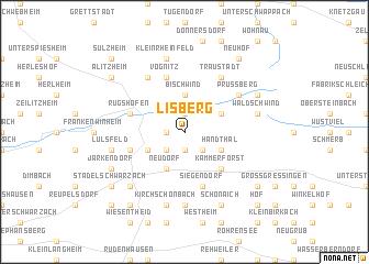 map of Lisberg