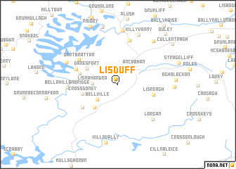 map of Lisduff
