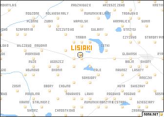 map of Lisiaki