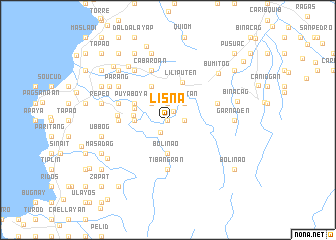 map of Lisna
