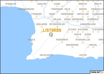 map of Lístaros