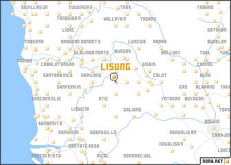 map of Lisung