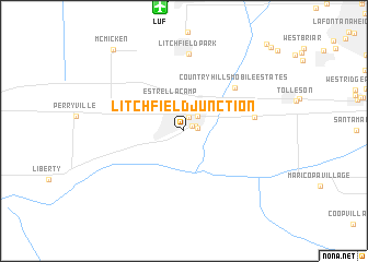 map of Litchfield Junction