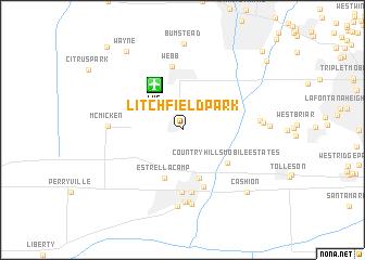 map of Litchfield Park